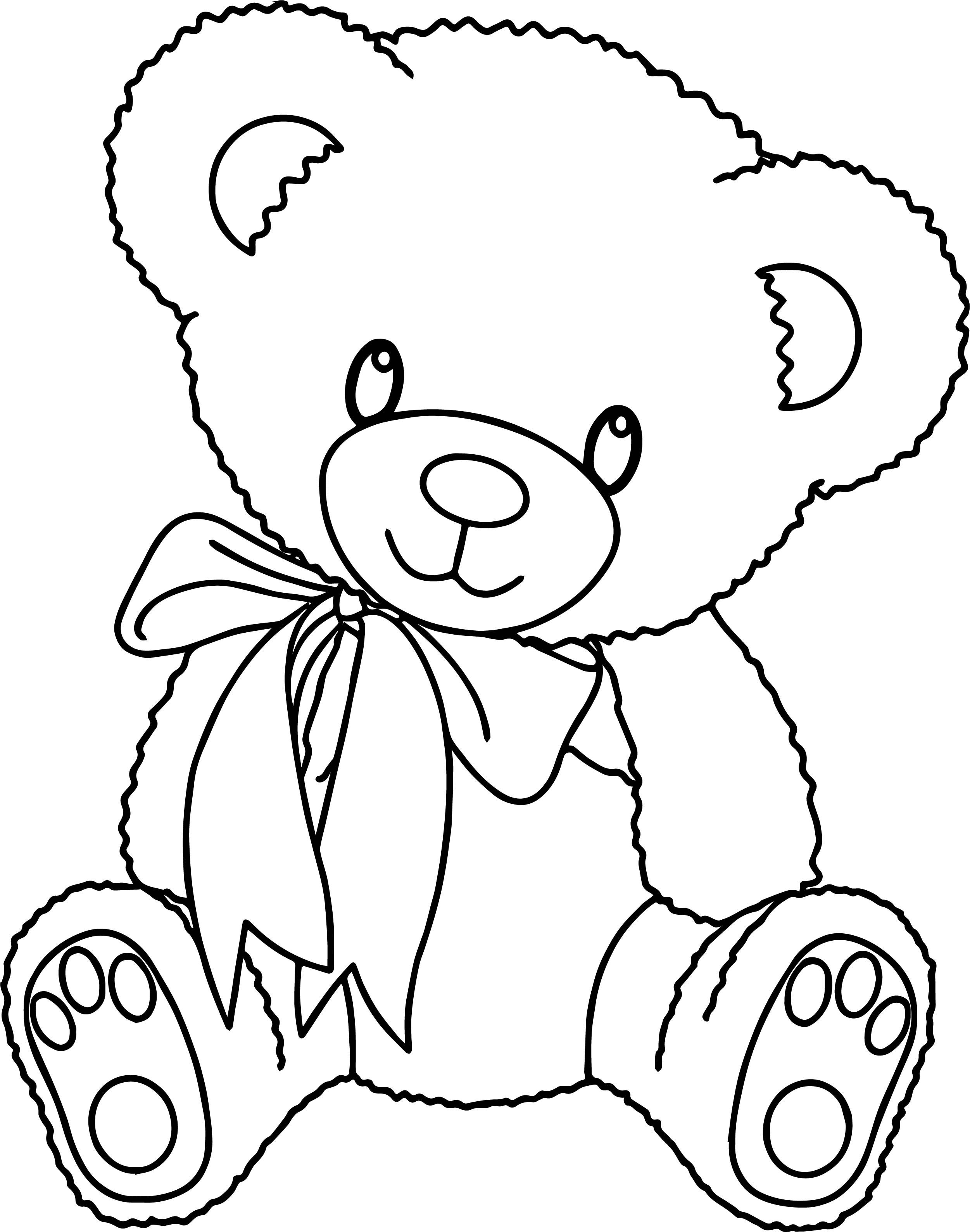 cool Bear Toy Family Coloring Page Bear coloring pages