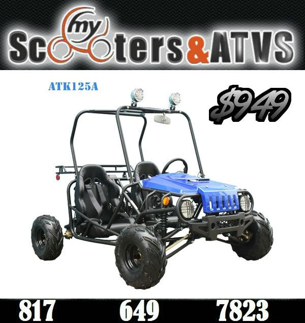 CHEAP CHINESE ATK 125A GO KARTS ONLINE. Perfect For Kids. Sale Price ...