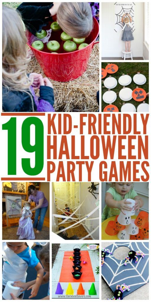 19 Kid-Friendly Halloween Party Games for a Spooktacular Time #halloweenpartygamesforkids