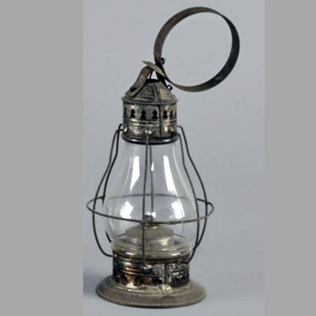Mid 1800s Fixed Globe Whale Oil Tin Lantern W Railroad Carry Loop Oil Lamps Oil Lantern Antique Lanterns