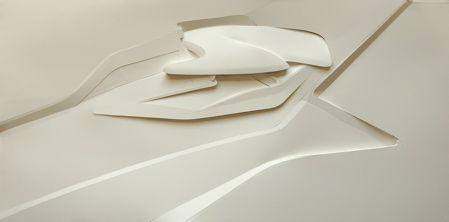 ALPITECTURE Innsbruck, Zaha Hadid Hungerburgbahn concept model