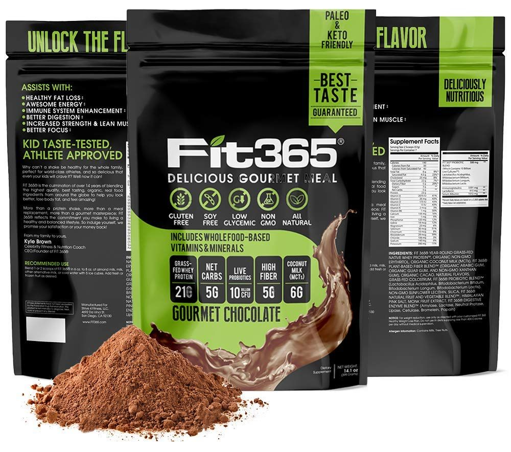 Fit 365 Shake Gourmet Meal Repl Protein Meal Replacement Shakes Grass Fed Whey Protein Protein Shakes