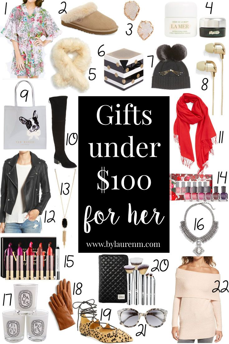 Shopping For Her You Need These Gifts Under 100 This Round Up Includes Everything From Little Luxuries To Beauty Items Accessories She Wants