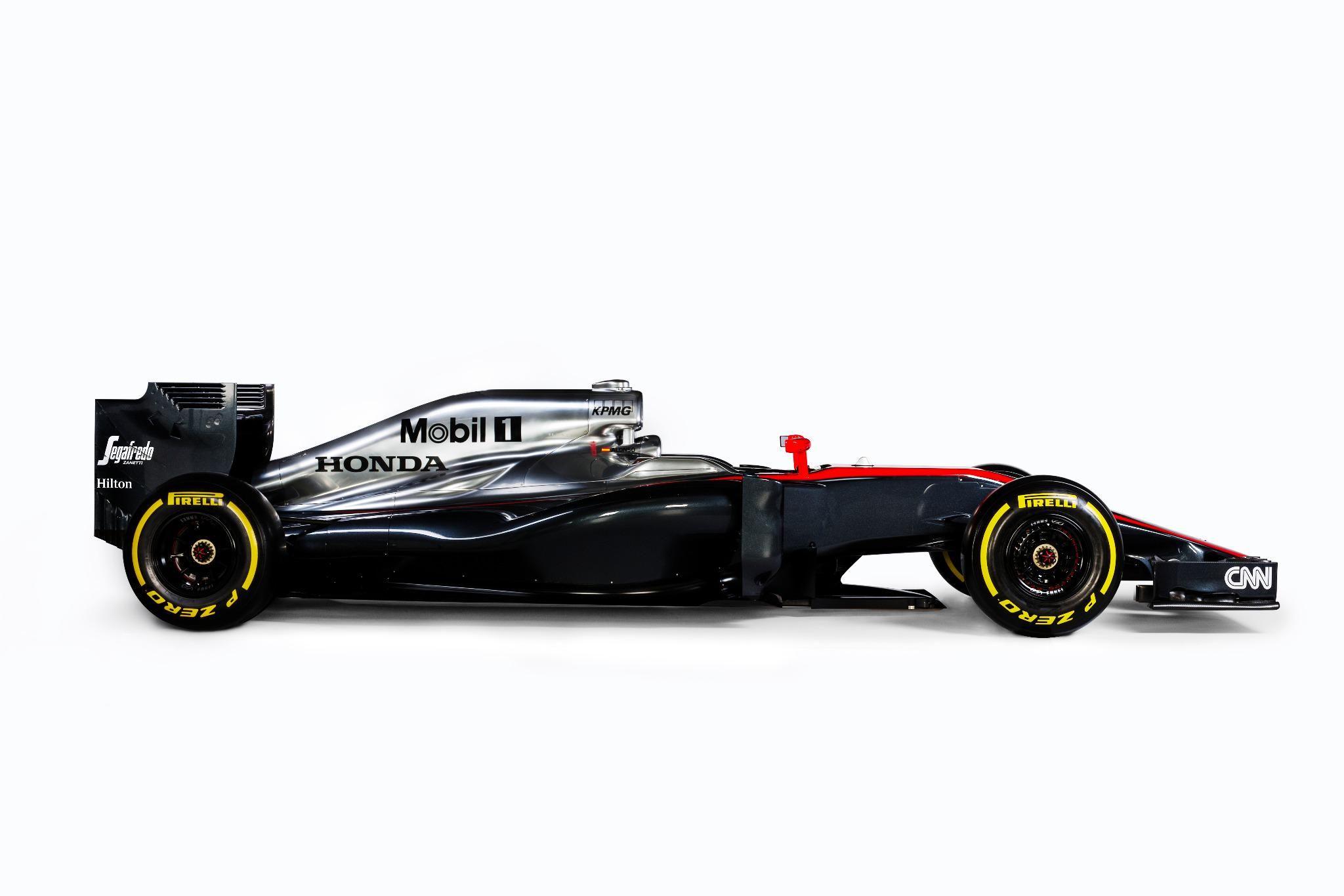 2015 McLaren Honda MP4-30 Revealed #F1