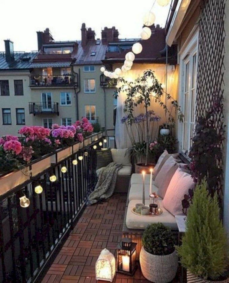 Balcony Decor For Small Apartment