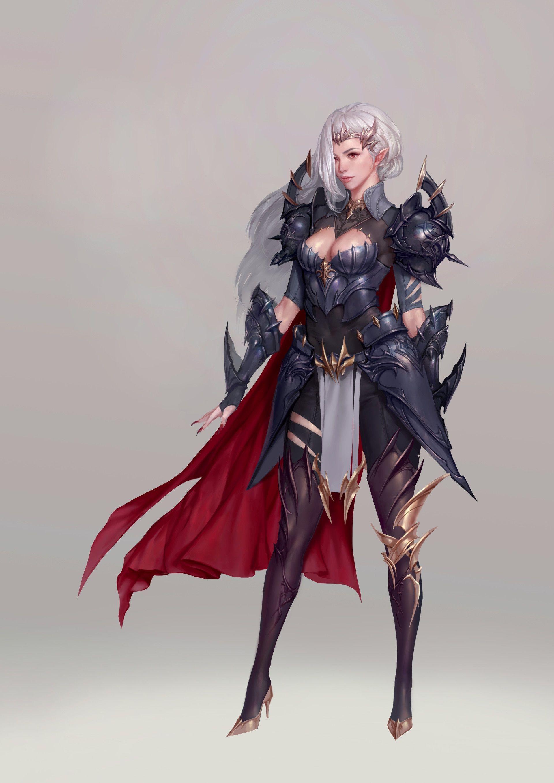 Kira (The Fairy Valkyrie) Character design girl, Fantasy