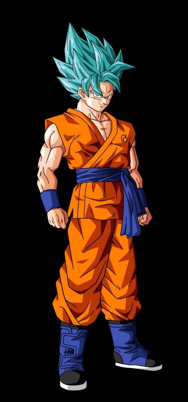 Goku Super Saiyan God Super Saiyan 2 by BardockSonic