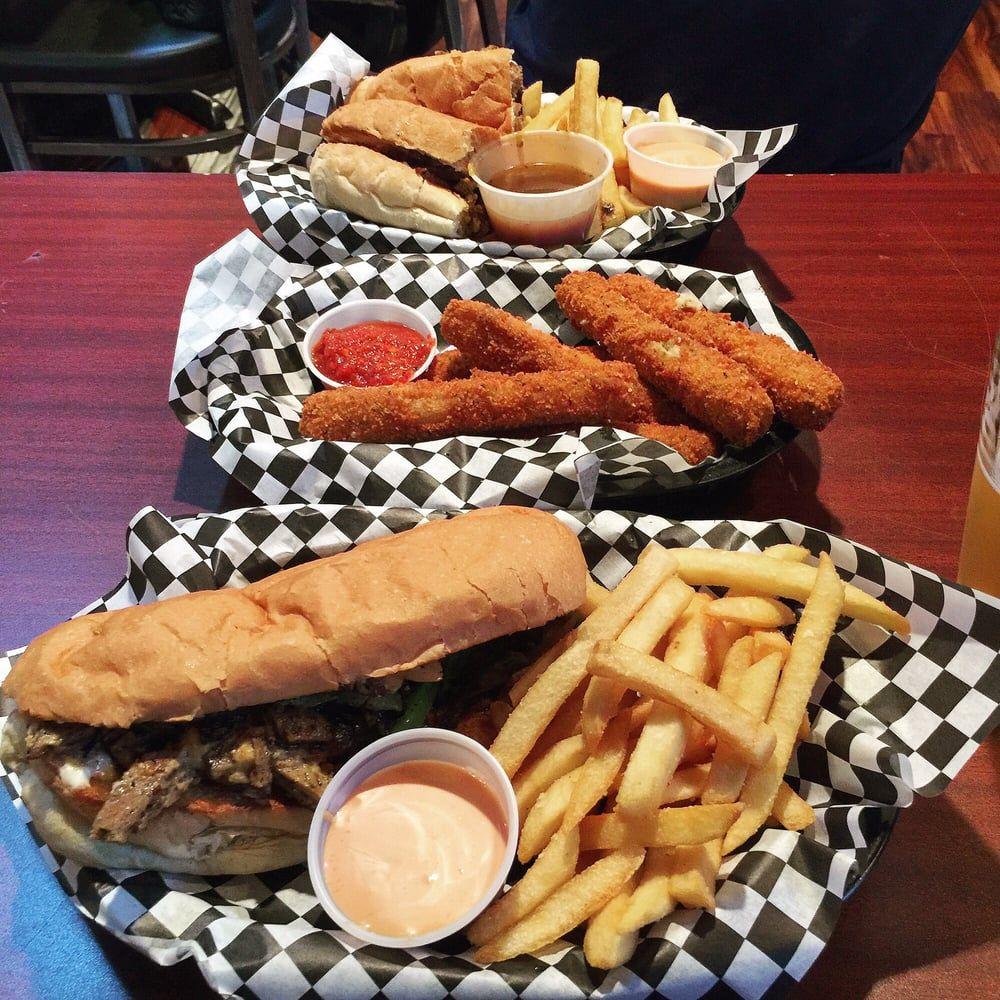Photo Of Black Water Portland Or United States Mozzarella Sticks And Cheesesteak Both All Vegan Vegan Eating Eat Hot Dog Buns