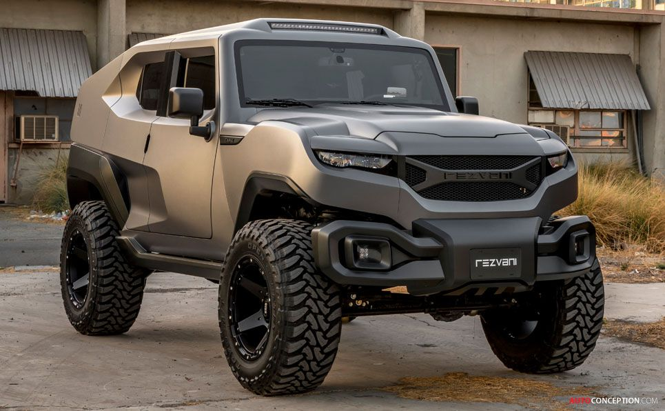 Rezvani Unveils New Military Inspired Tank Suv Suv Vehicles Concept Cars