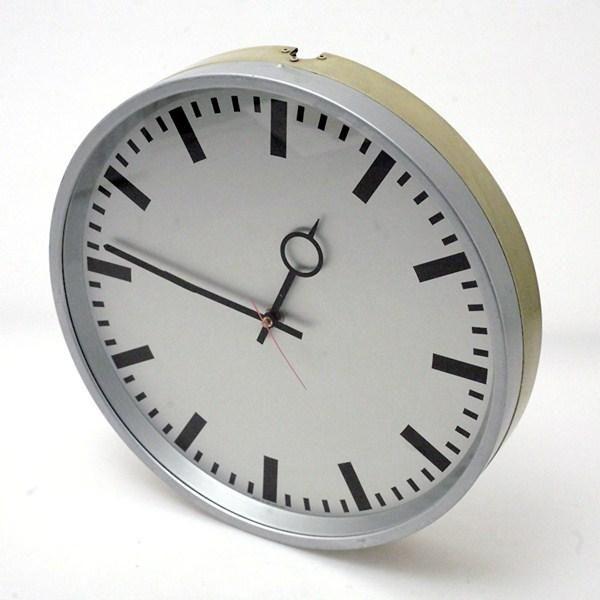 1960 S Moser Baer Www Cyan74 Com Vintage Pop Culture Sold Industrial Clocks Industrial Clock Wall Vintage Industrial