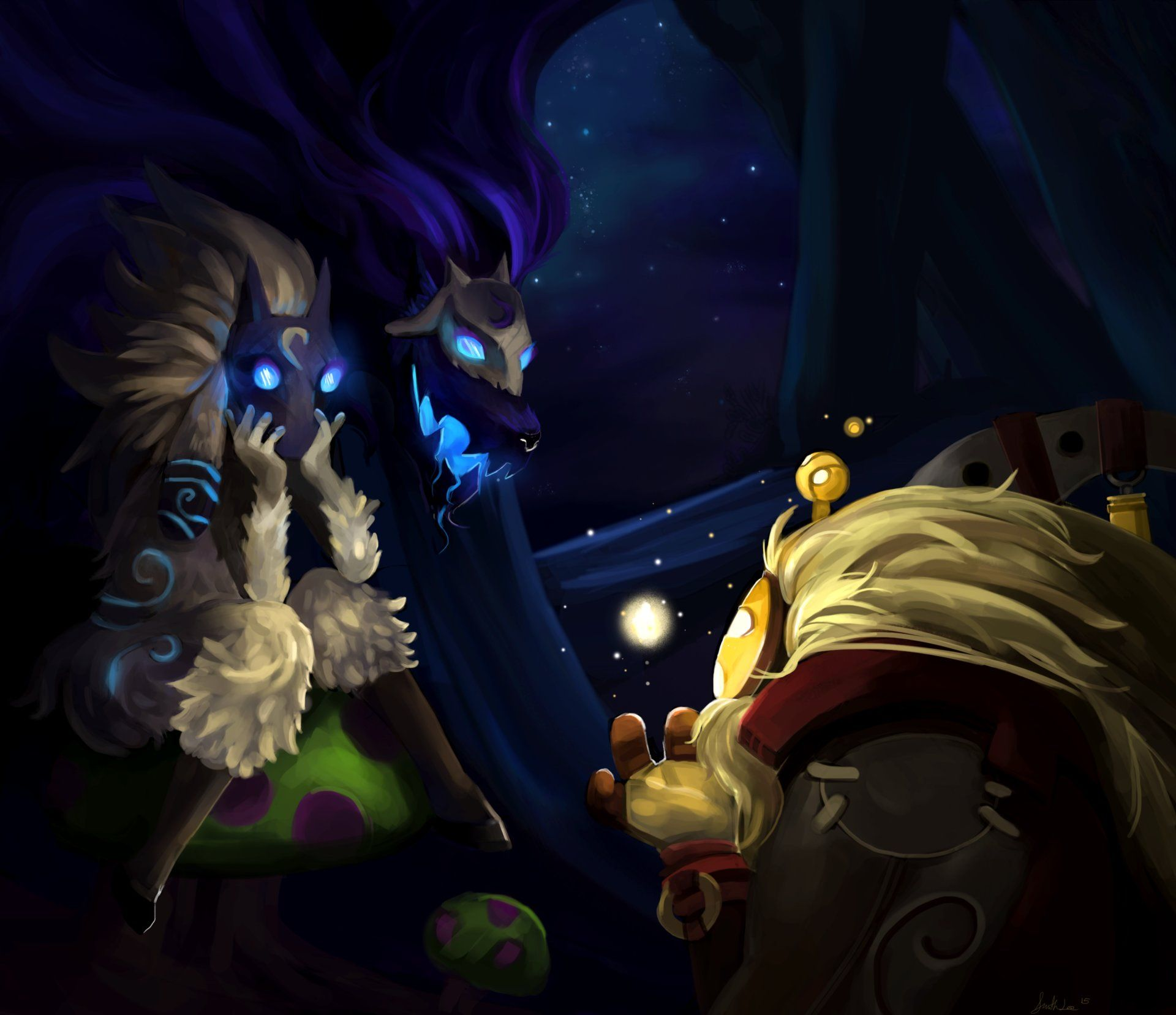 Storytime with Bard ft  Kindred | League Of Legends ☮ | League of