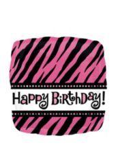 Foil Oh So Fabulous Happy Birthday Balloon