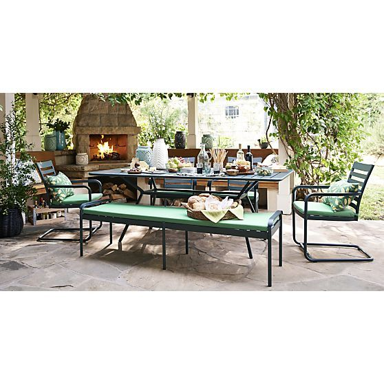 Orleans 91 5 Large Rectangular Dining Table Outdoor Furniture