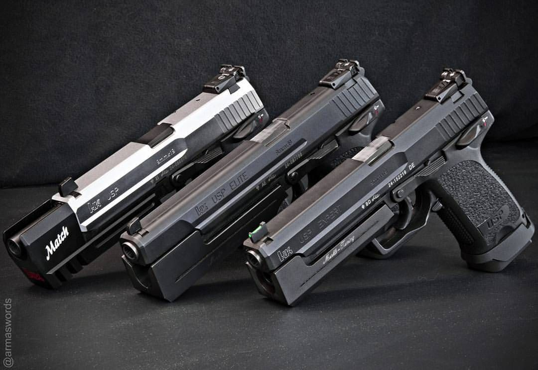 Manufacturer: Heckler & Koch Mod. USP Match / USP Elite