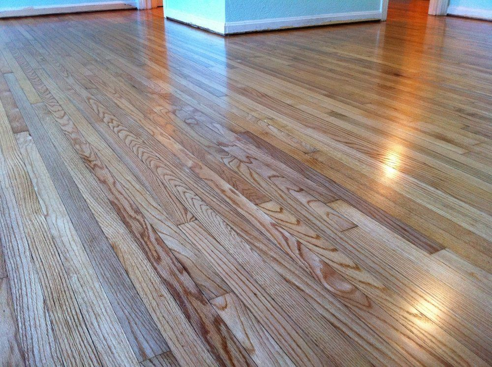 Refinished 1949 red oak hardwood floors yelp design for Hardwood floors and more