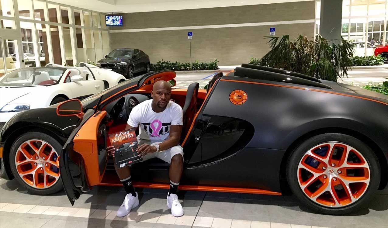 Floyd Mayweather Reportedly Buys Bugatti Chiron   Buy bugatti ...