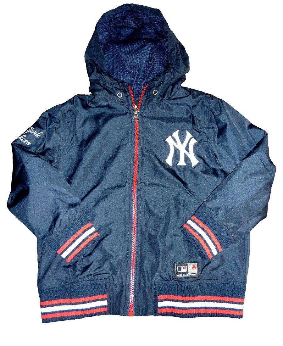 3d5b2f4e2 Majestic MLB NY Yankees Lightweight Jacket. £37.99. 3-7 years ...