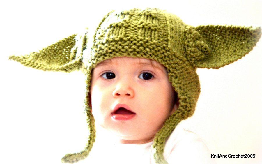 Earflap Hat, Star Wars Fans Hat All Sizes Yoda Hat Ear Flap Hat ...