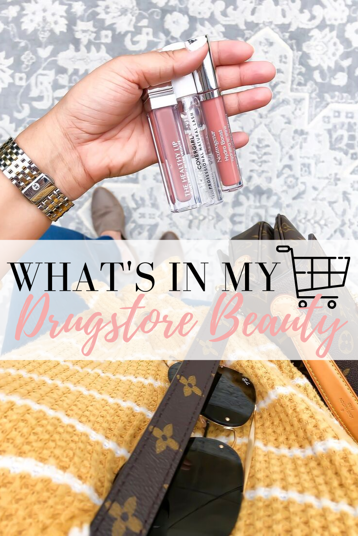 Drugstore Beauty What's in My Cart Beauty products