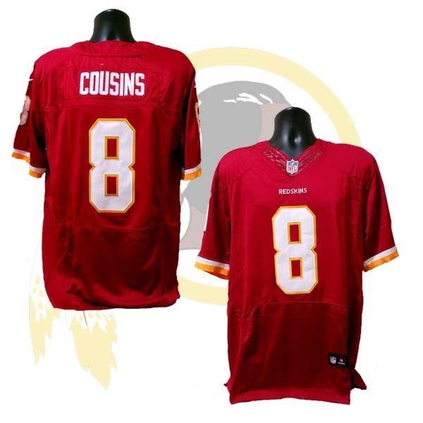 Kurt Cousins Washington Redskins Nike Jersey #Nike #WashingtonRedskins