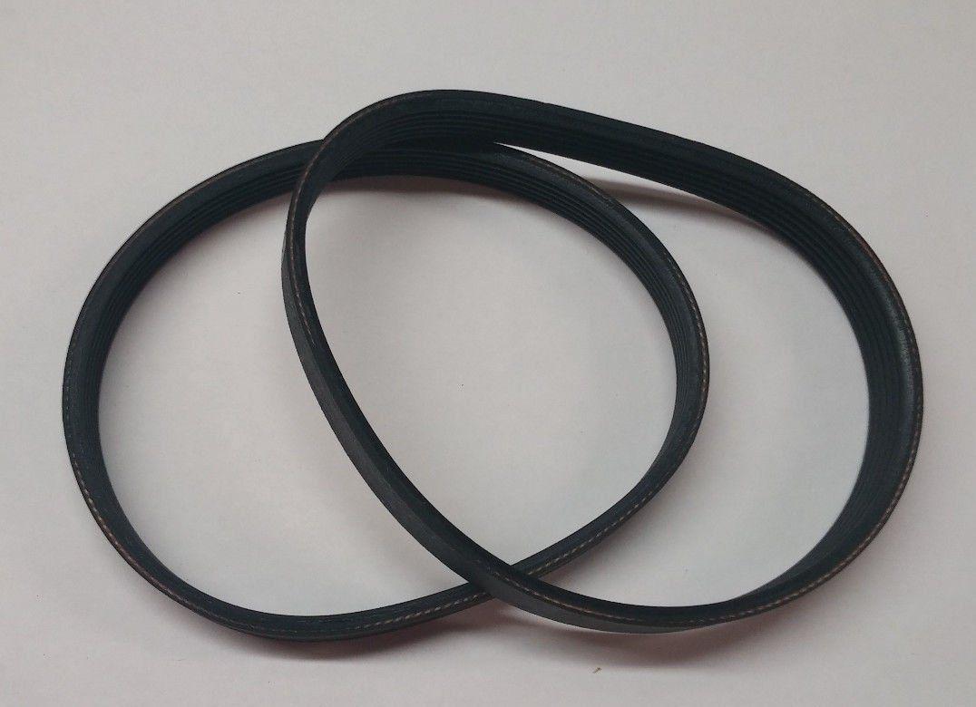 "2 After Market **Replacement Belts** Delta 22-540 12"" Planer Type 1&2 drive belt 22-546 135J6. New Replacement Rubber Belt."