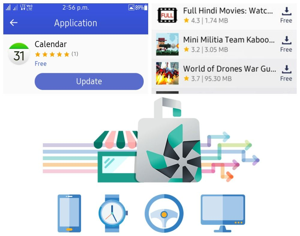 Samsung Z1 Z2 And Z3 Tizen Store Updated To Version 1 6 2 And