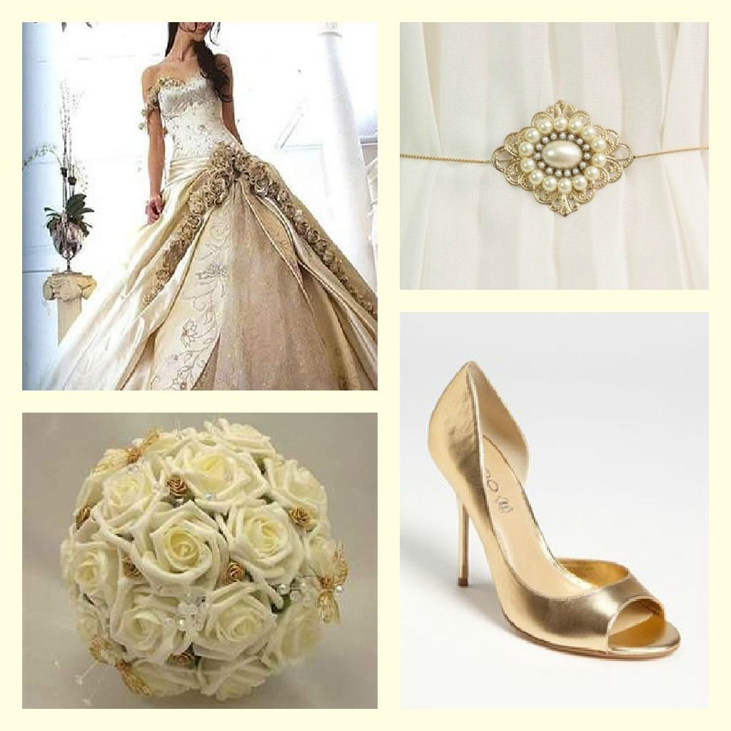 Going for Gold – Gold Wedding Theme