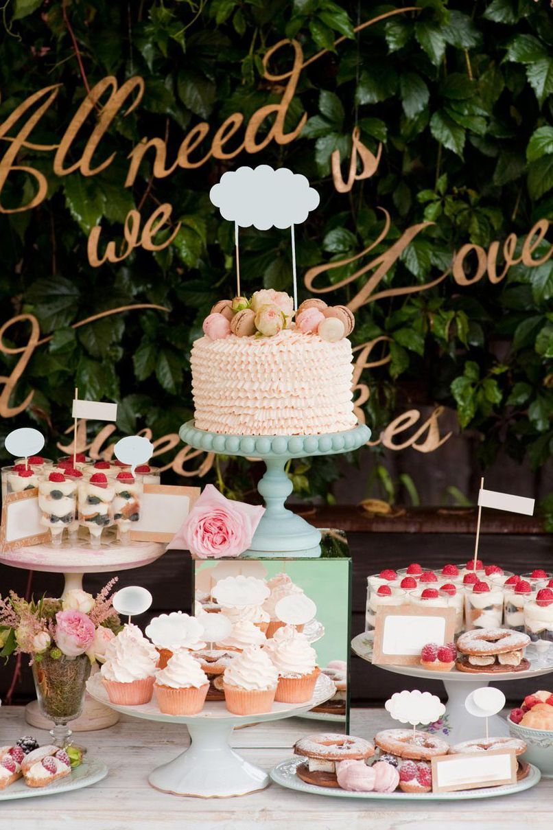 Wedding Dessert Table Ideas How To Create A Mind Blowing Display