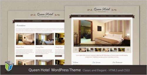 10 Professional Hotel And Restaurant Wordpress Themes Elegant