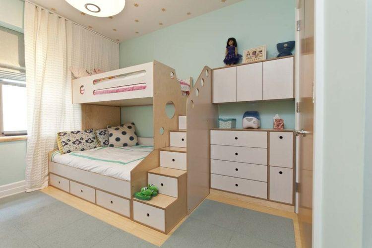 Kinderbetten in modernem Design Komfort und Spaß Camas