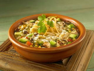Melinda Besinaiz: Clean Crock Pot Chicken Tortilla Soup