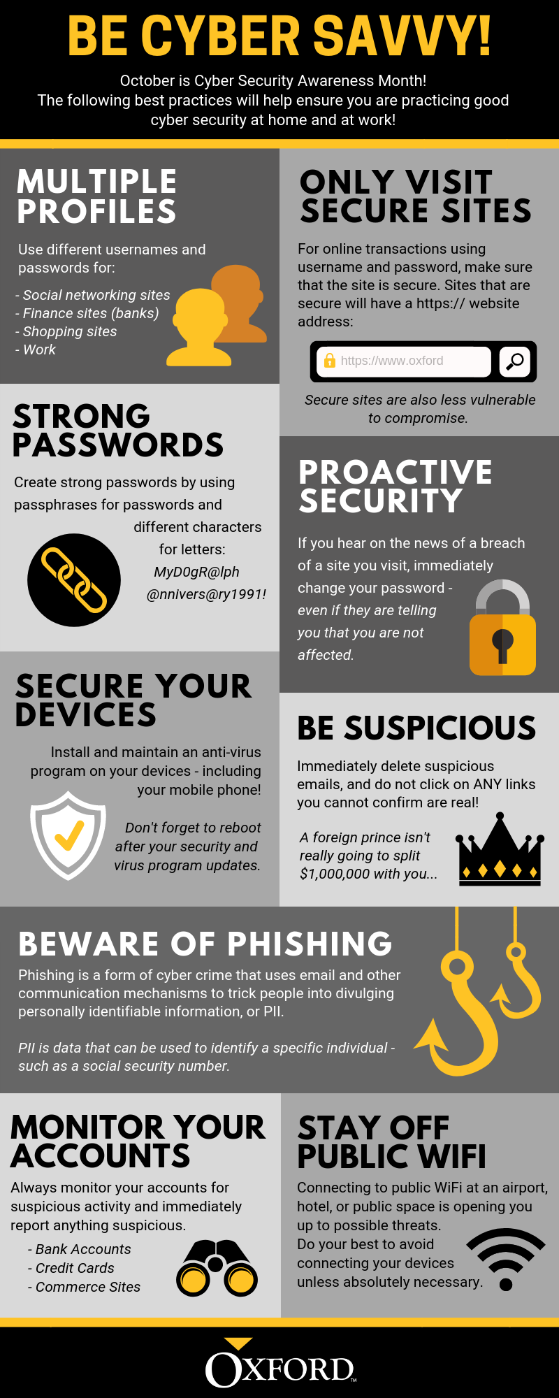 As Technology Advances And Information Becomes More Available It S More Importa Cyber Security Awareness Cyber Security Awareness Month What Is Cyber Security