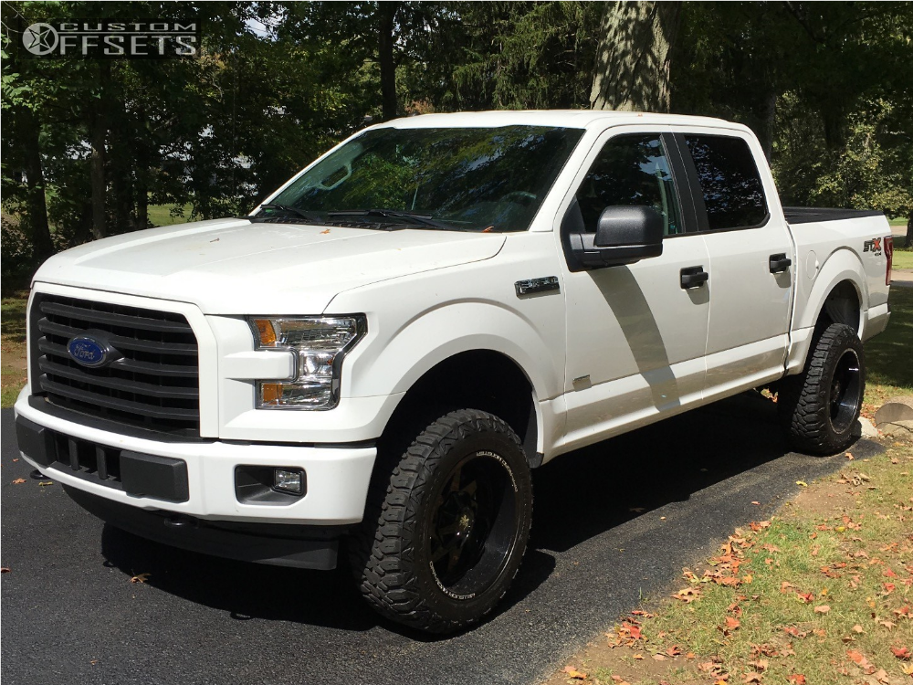 2017 Ford F 150 Monster Offroad M09 Motofab Leveling Kit Ford Trucks F150 Ford F150 Ford Trucks