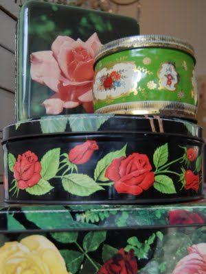 Vintage tins  I have many like these