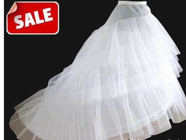 30a3a86daa44 Hot sale 50% off 3 HOOP Ball Gown BONE FULL CRINOLINE PETTICOAT WEDDING  SKIRT SLIP NEW H-3 | wedding dresses and groom suits | Petticoat for wedding  dress, ...