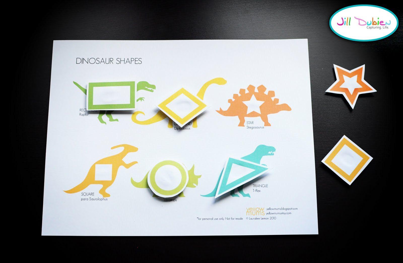Free Printable Dinosaur Crafts