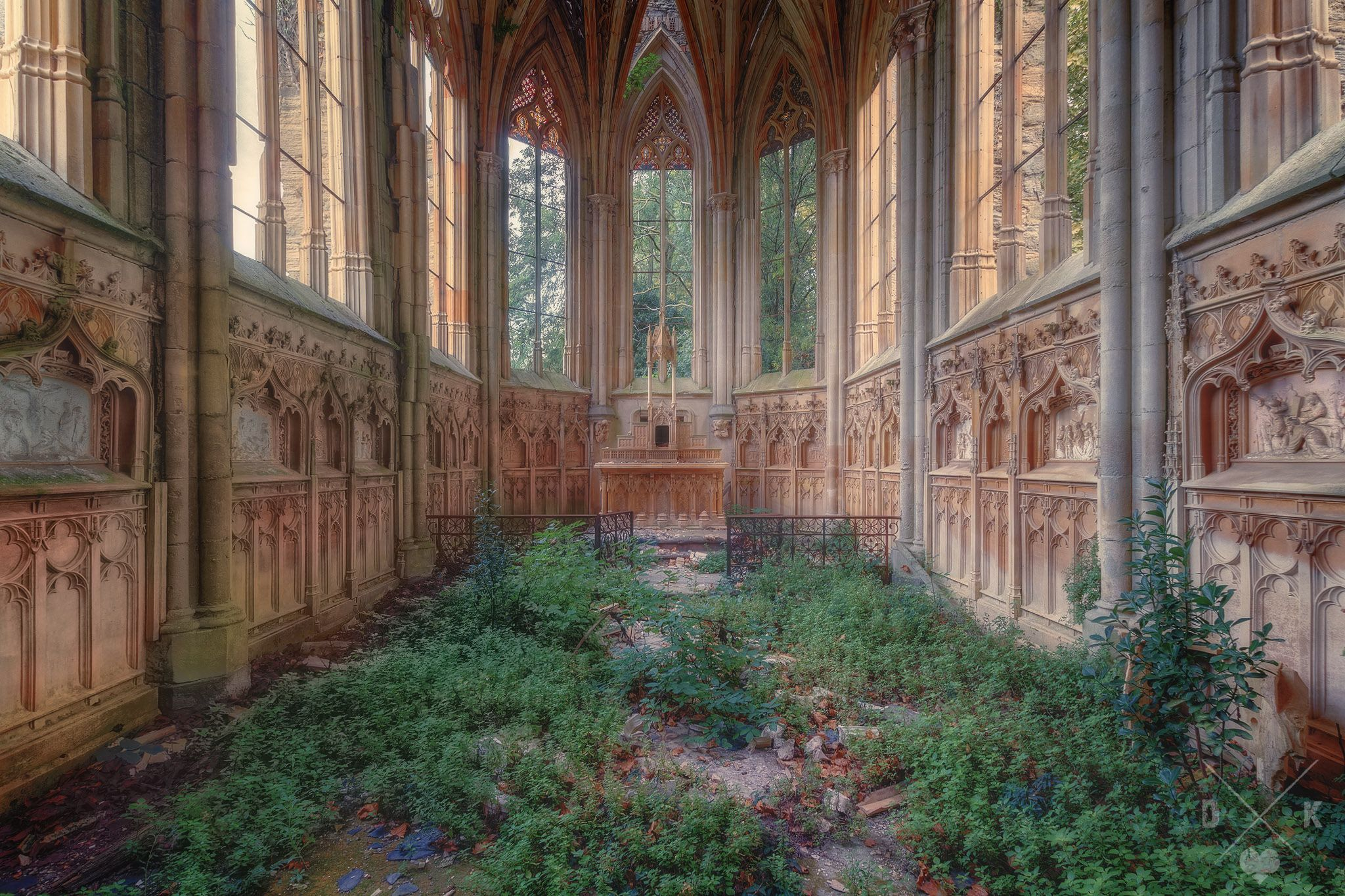 Abandoned Church i'll see you on the other side | abandoned, abandoned churches and