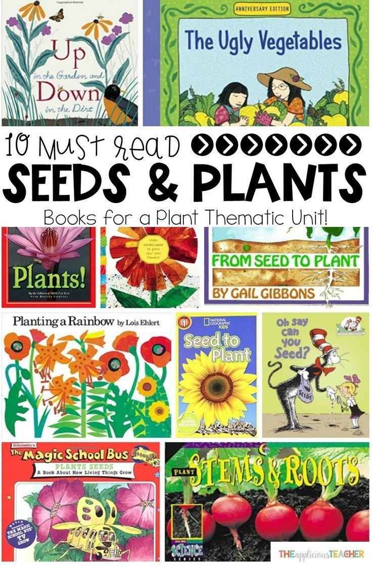 books about plants kindergarten