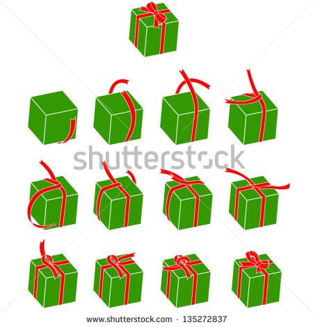 How To Tie A Ribbon On A Box Gifts Wrapping Diy How To Tie Ribbon Christmas Presents For Kids