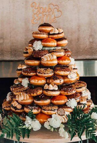 Donut Wedding Decor Trends 2019 #donutcake