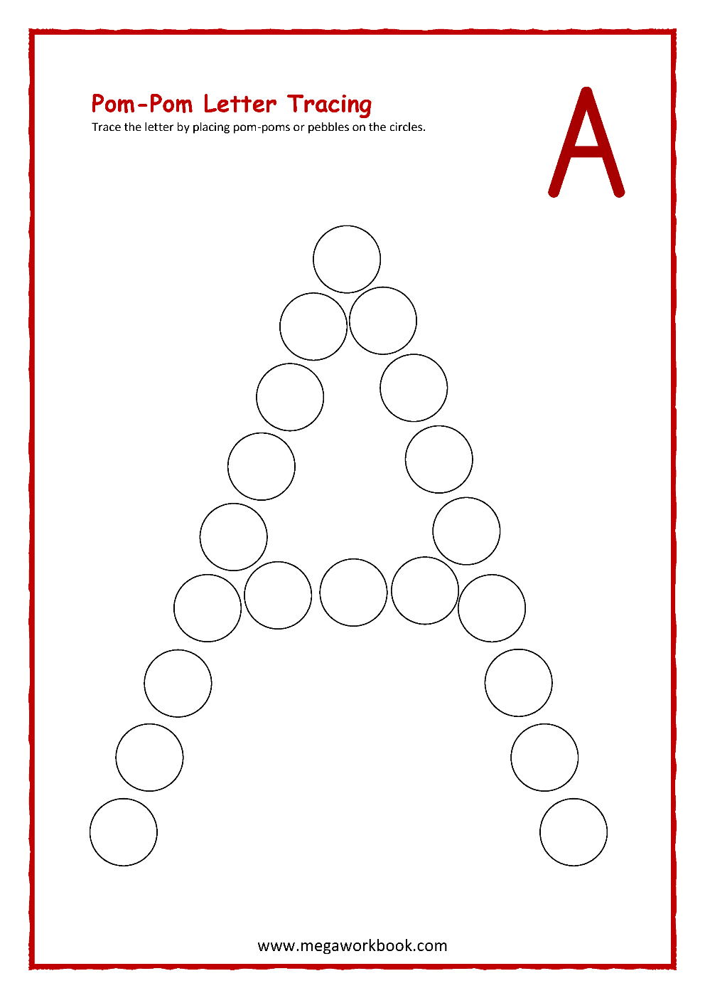 Letter A Activities Letter A Worksheets Letter A