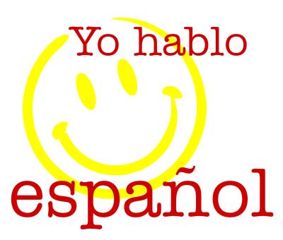 Image result for yo hablo español