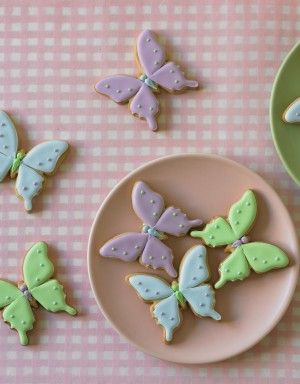 Sweet and Simple Butterfly cookies