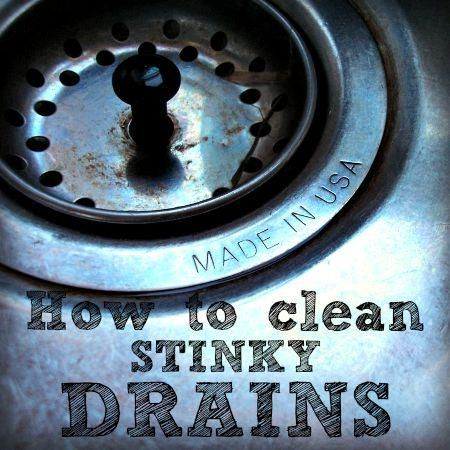 How To Clean Stinky Drains | Cleaning sink drains, Kitchen ...