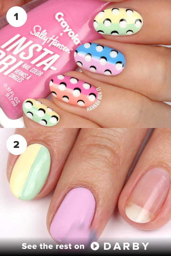 Easy 3d Dot Nail Art Nailart Howto Sallyhansen Beauty