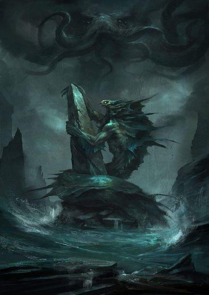 Cthulhu Cthulhu Cthulhu Art Lovecraft Monsters Lovecraftian Horror