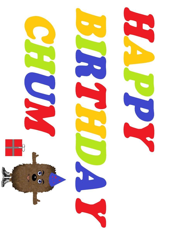 Happy birthday chum scottish greetings card stuff to buy pinterest happy birthday chum scottish greetings card m4hsunfo