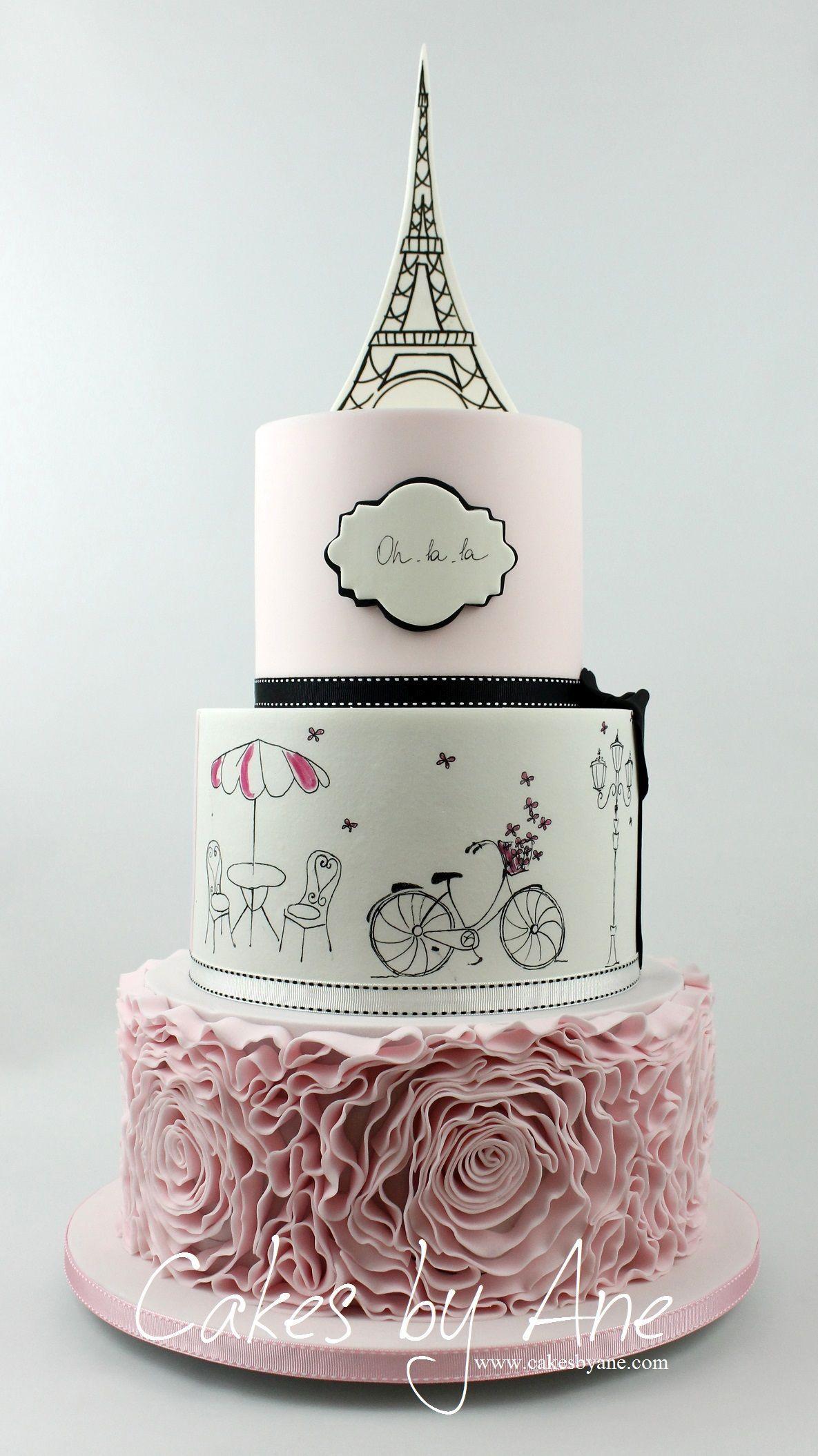 Eiffel Tower Silicone Fondant Mold Mould Cake Adornment DIY Multi-color Best EL