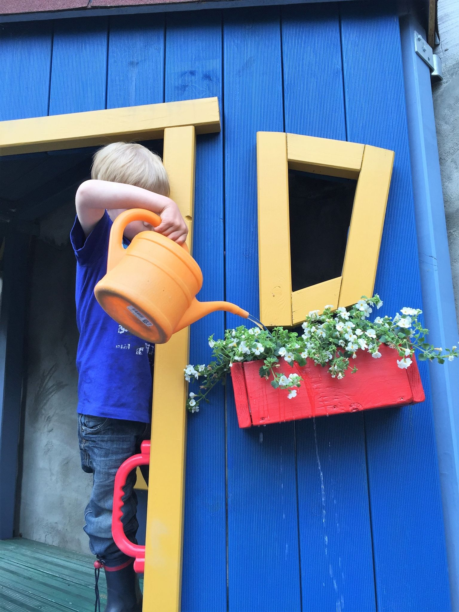 Diy Kinderspielhaus Selbst Gebaut Piratenstrandhaus Vom