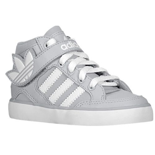 Adidas Originals Hard Court Hi Strap Boys Toddler At